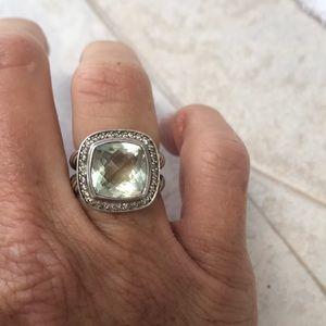 David Yurman Diamond Ring size 7 Albion collection